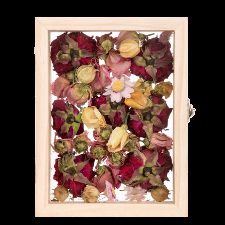 Cuadro flores secas (Tamaño S)